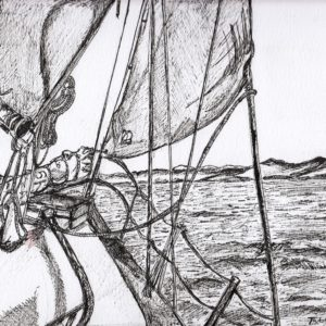 Sailing Boat Cards